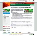 カナダ永住権の最短ルート!マニトバプロビンシャルノミニープログラム(MPNP)のWebサイトを翻訳してみた (2回目)